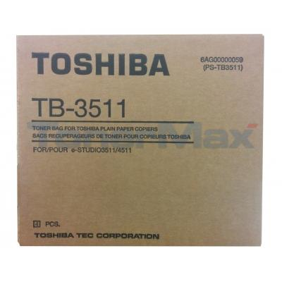 TOSHIBA E-STUDIO 3511/4511 TONER BAG 